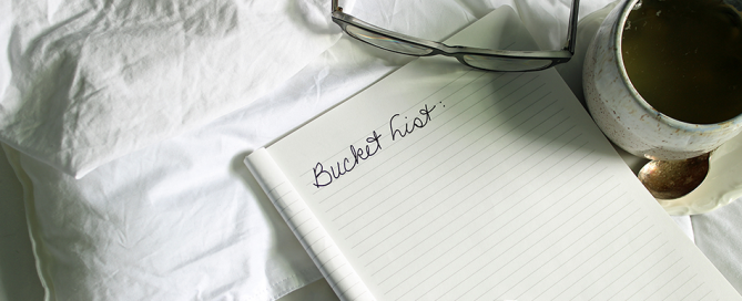 Making and Accomplishing Your Retirement Bucket List
